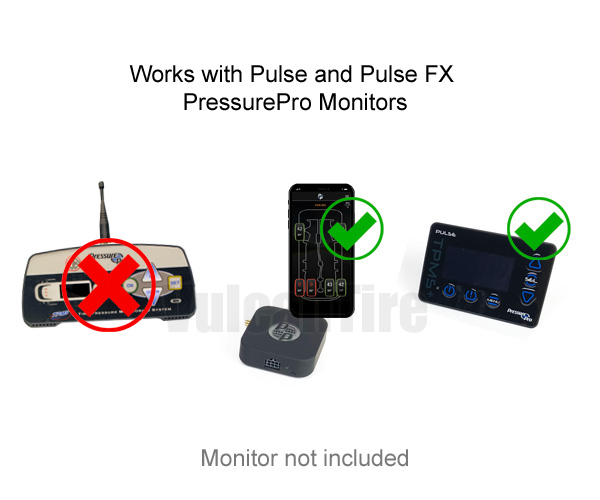 Dynamic Sensors are recommend for use on PressurePro PULSE and Pulse FX systems.
