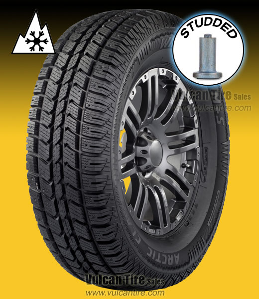 31x10 50r15 Tires >> Eldorado Arctic Claw Winter Xsi Studded 31x10 50r15 C Tires For