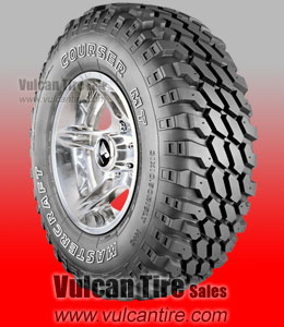 (4) Mastercraft Courser MT tires | no-reserve auction on Tuesday