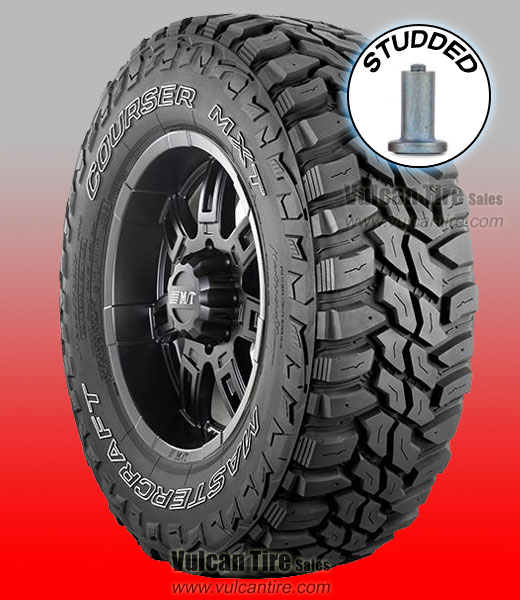 Mastercraft Courser Mxt Studded All Sizes Tires For