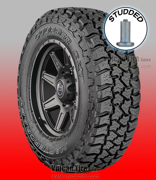 Mastercraft Courser Cxt Studded All Sizes Tires For