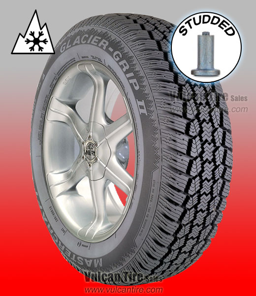 Winter Tires For Sale >> Mastercraft Glacier Grip Ii Studded All Sizes Tires For Sale