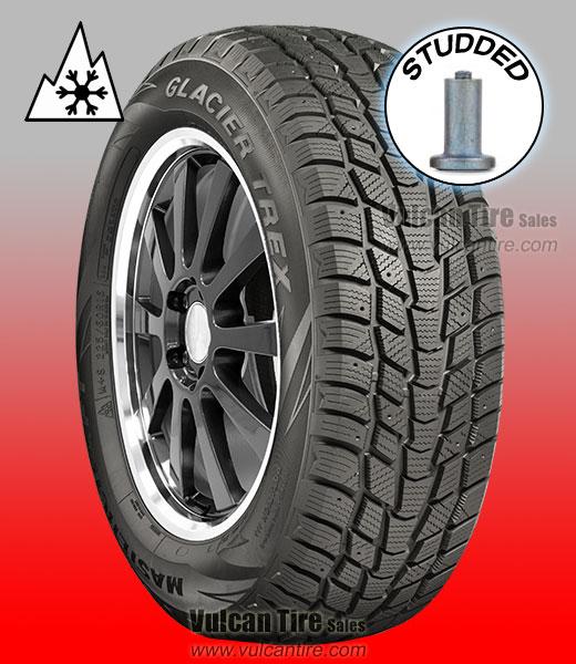225//65R17 102T Mastercraft Glacier Trex Winter Tire