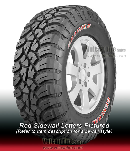 Nitto Ridge Grappler Sizes >> General Grabber X3 (All Sizes) Tires for Sale Online