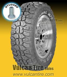 Eldorado Mud Claw M T Studded 33x12 50r15 C Tires For Sale Online