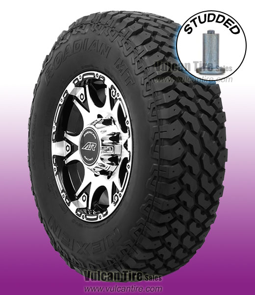 31x10 50r15 Tires >> Nexen Roadian Mt Studded 31x10 50r15 C