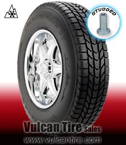 firestone winterforce lt studded all sizes tires for sale online vulcan tire. Black Bedroom Furniture Sets. Home Design Ideas