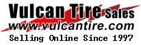 Vulcan Tire Sales Logo